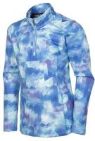 HAILEY GIRLS PULLOVER AZURE PRINT