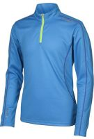 SUN KIDS 1/4 ZIP - CAYMAN BLUE